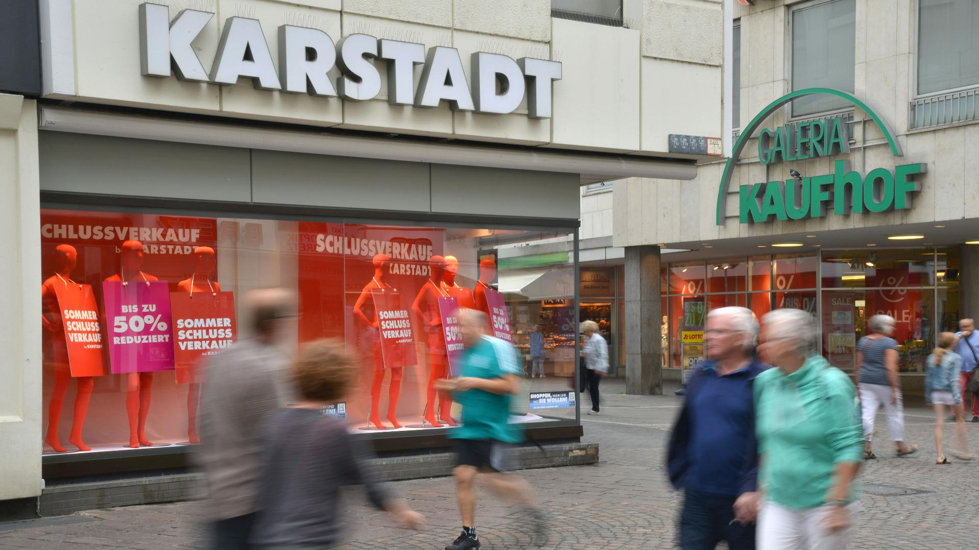 62 Filialen von Karstadt und Kaufhof sollen schließen